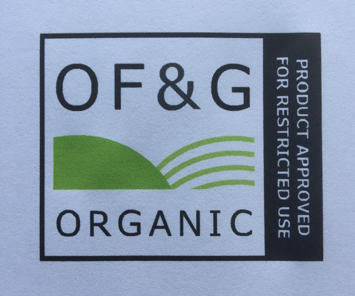 Organic Certification Approval