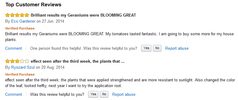 Reviews fromOur Amazon Customers
