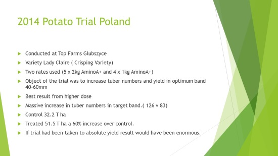 Potato Trial Poland 2014